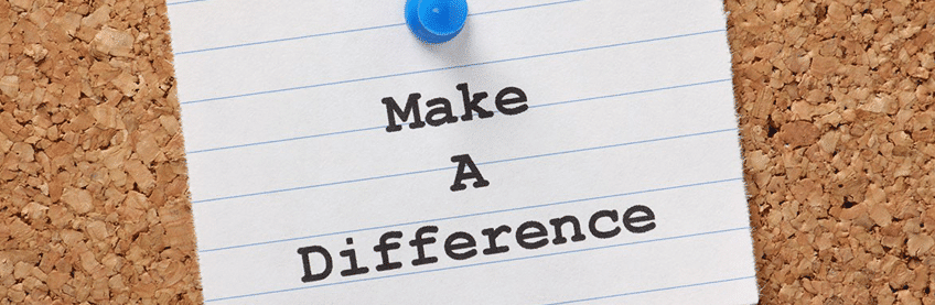 Make s difference