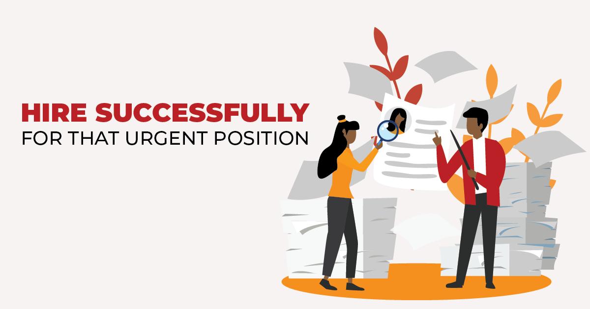 solutions urgent hiring