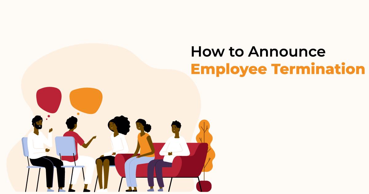 announcing employee termination